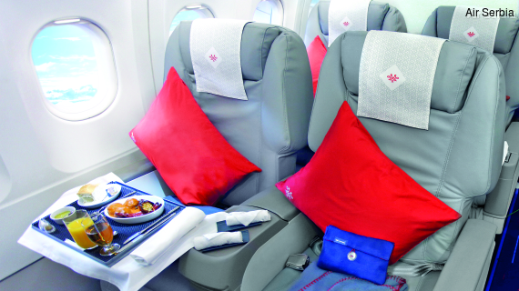 Air Serbia Business Class